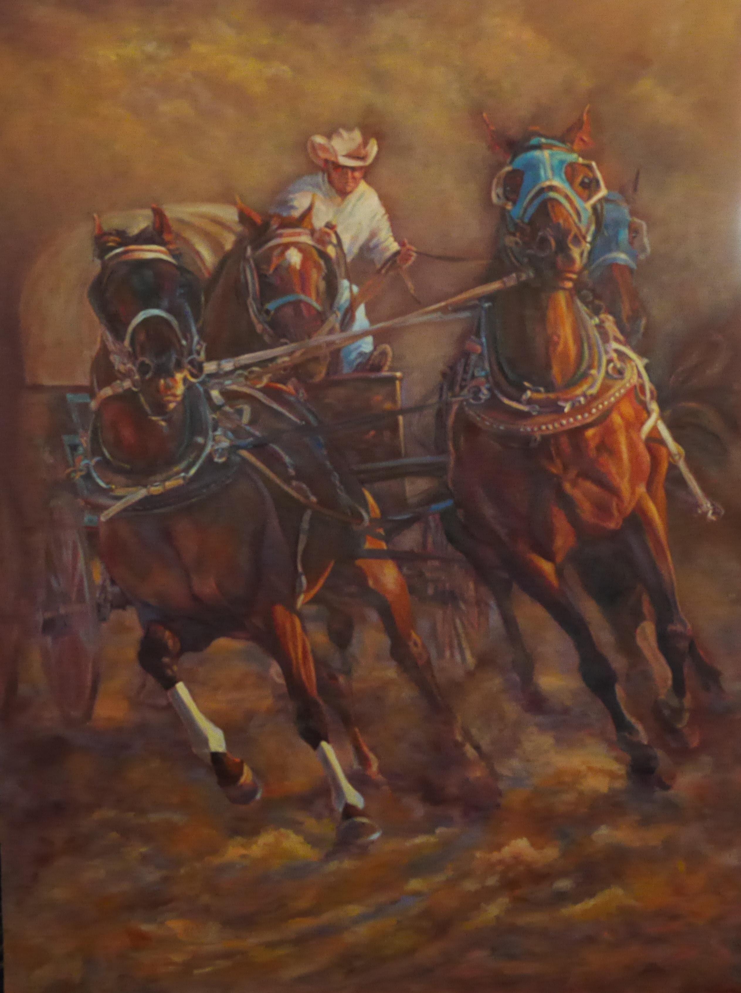 Oil on Linen 48 x 36 $5,000